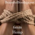 6mm Hemp Rope