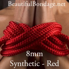 15 Metres 8mm Synthetic braid-on-braid